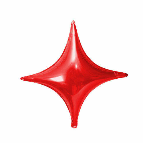 5PCS 10inch Four-pointed Star Foil Balloon Wedding Party Decoration Balloons