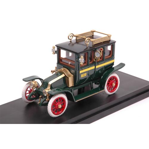 RENAULT TIPO X TAXI 1907 verde 1 43 Rio Taxi Die Cast modellolino