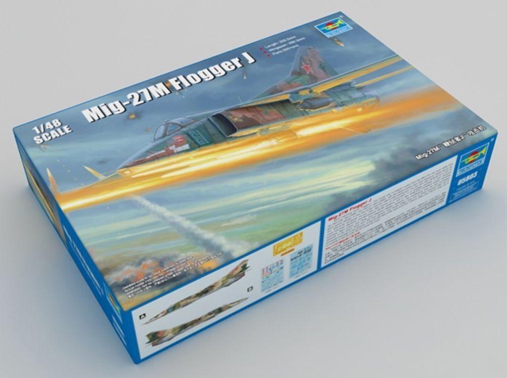 Trumpeter TRU05803 1 48 - MiG-27M Flogger J Soviet Jet Fighter