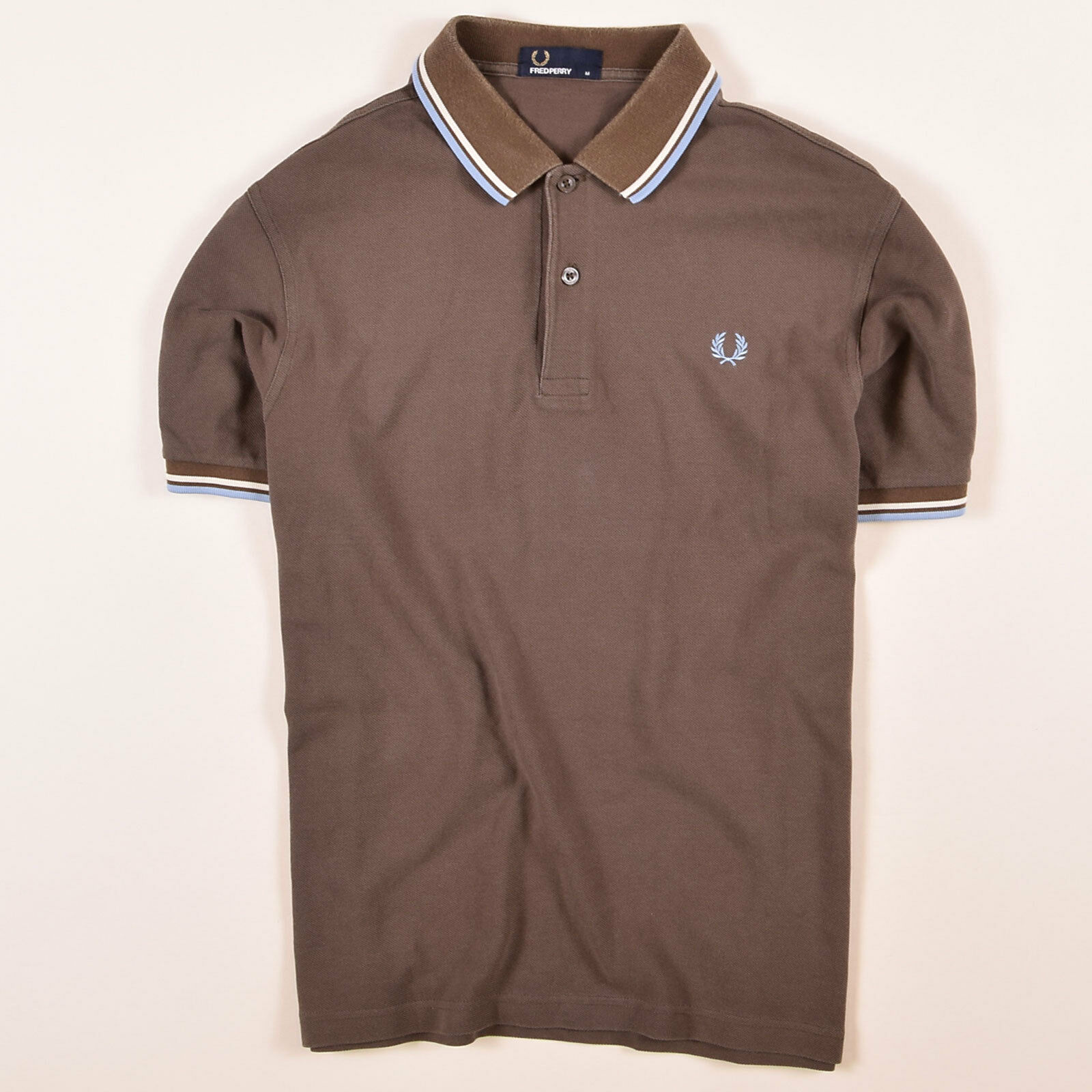 0e6853f5519 FRouge Perry Homme Polo Polo Shirt Taille M M M Marron