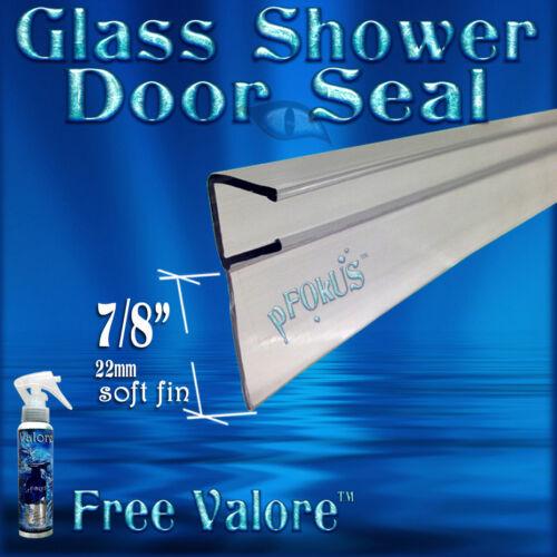 """Valore bottle DS101 Bypass Slider 5//16/"""" GlassShower Door Seal  32/"""" Long  FREE"""