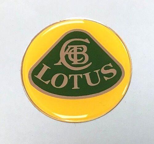 LOTUS Sticker//Decal 54mm DIAMETER HIGH GLOSS DOMED GEL FINISH