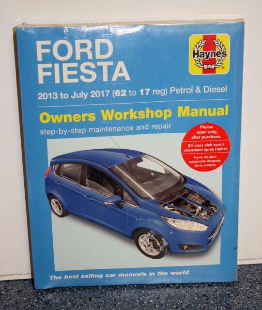 Ford Fiesta 2013 to 2017 Petrol & Diesel Manual - Softback New Haynes