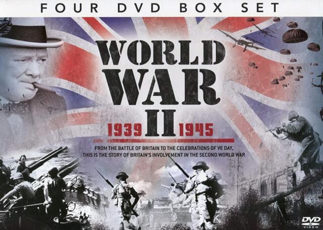 World War LL 1939-1945 4 DVD Set Battle of Britain D-day RAF WWII 1939 1945
