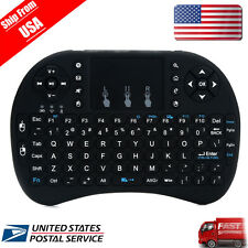 Hebrew Layout Backlit Rii mini i8+ Wireless Keyboard for Smart TV Android BOX US