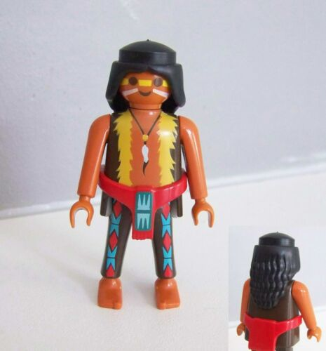 Guerrier Pieds Nus Campement 4012 INDIENS PLAYMOBIL E245