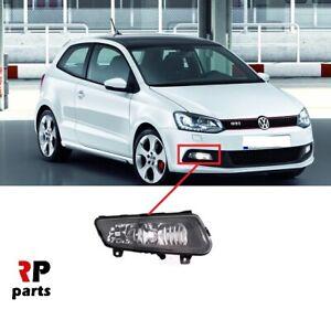 VW-Polo-GTi-09-14-VW-Polo-14-17-R-Line-Foglight-Lampara-De-Parachoques-Delantero-Derecha-O-S