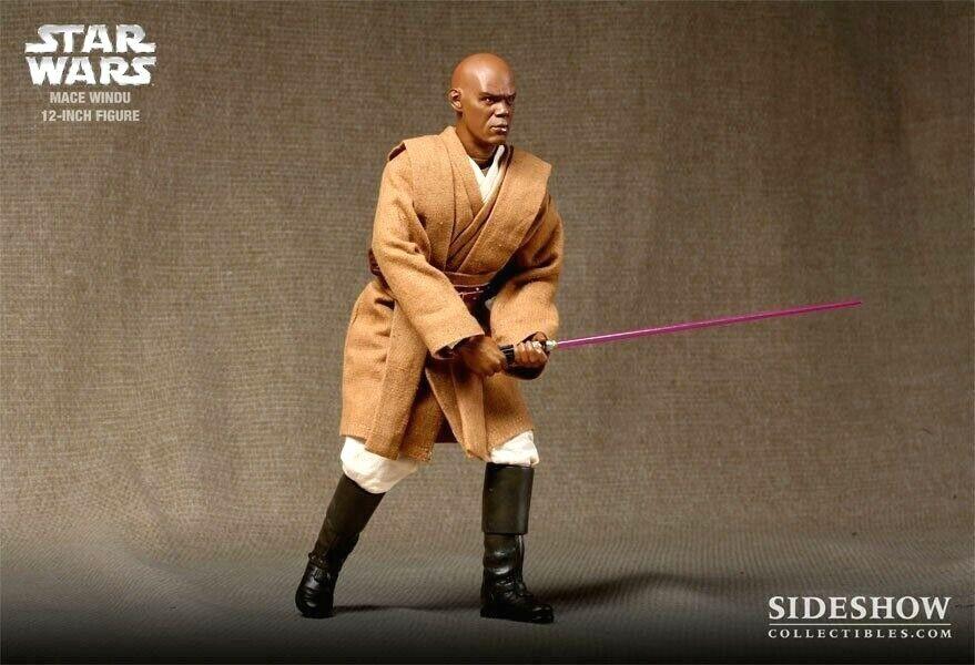 Sidemostrare estrella guerras Mace Windu Jedi Master 1 6 cifra di edizione esclusiva
