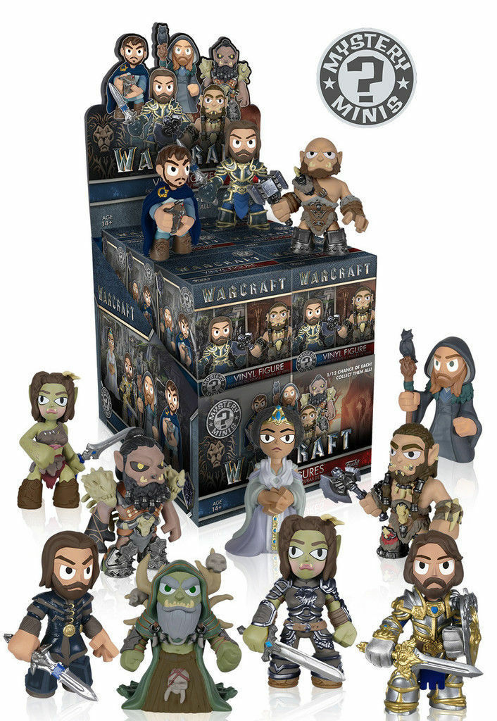 FUNKO MYSTERY MINIS Warcraft (World of) Sealed BOX Case of 12 Blind Boxes  7602