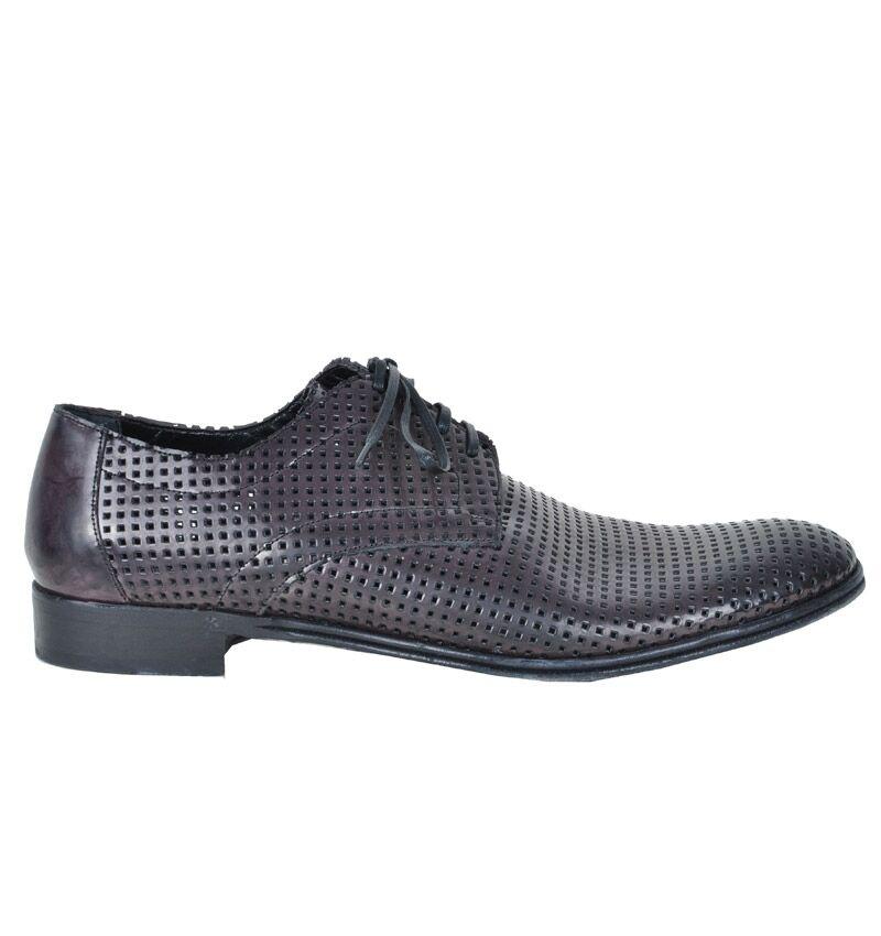 DOLCE & GABBANA RUNWAY Netz Schuhe Braun Net Shoes Brown Chaussures Brun 02292