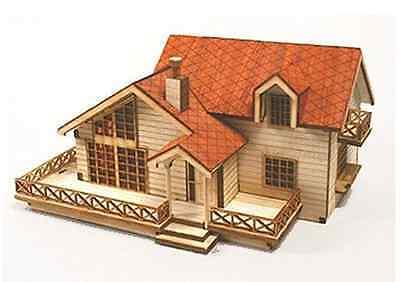 Garden House B / Wooden model kit