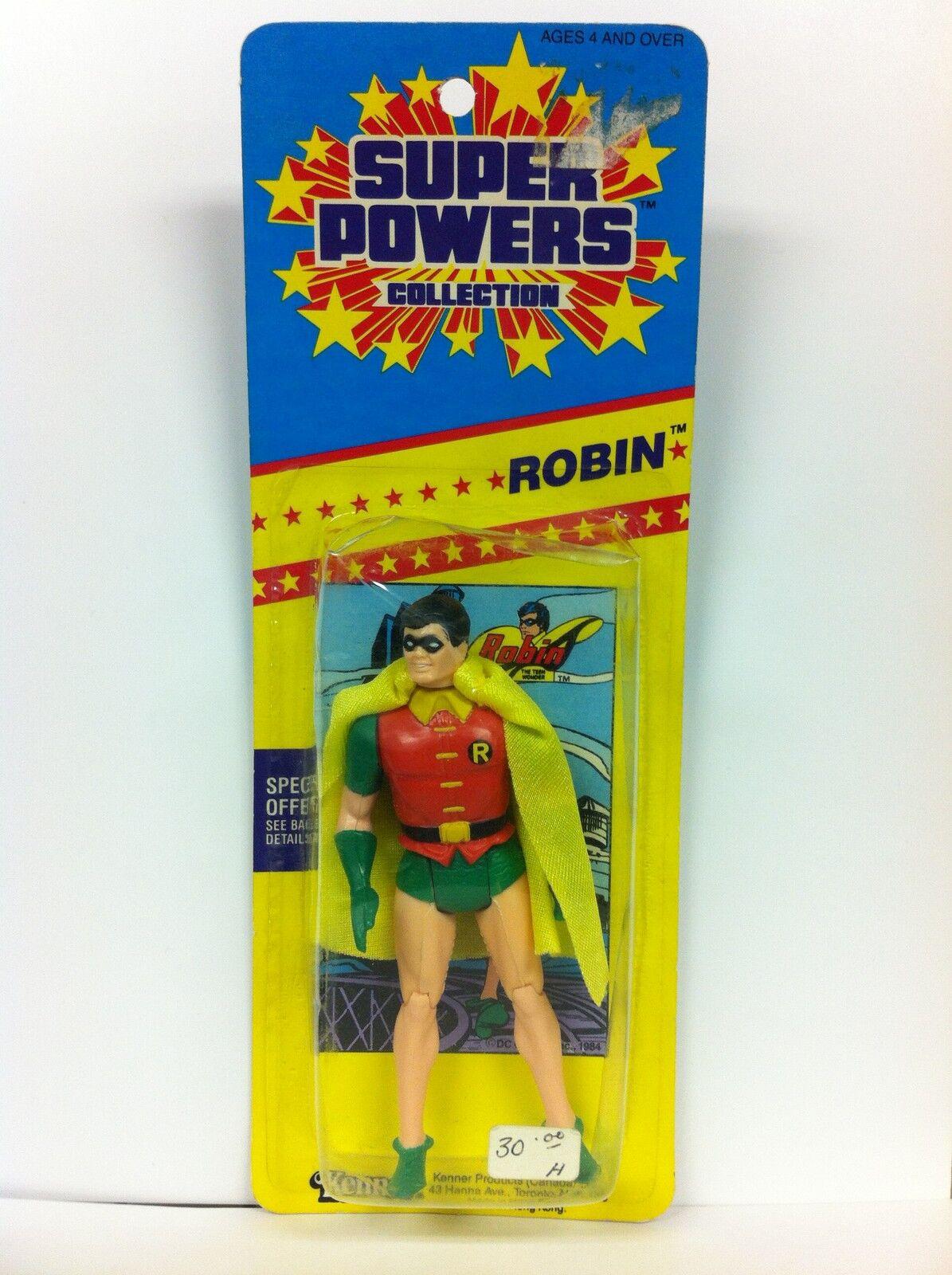 Super Super Super Powers Collection Robin Figure Kenner 1986 8146b0