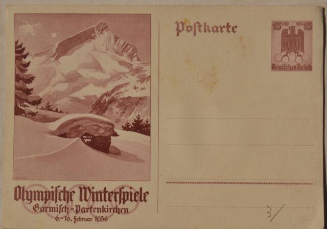 Olympische Winterspiele Garmisch Partenkirchen 1936 Germany