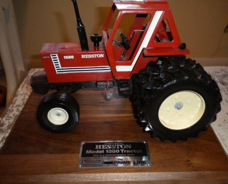Hesston Fiat Model 1380 Commemorative Model Tractor