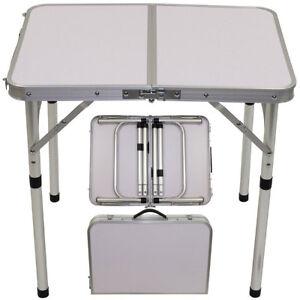 Table de Camping Aluminium Pliable Pliante D\'Extérieur Jardin ...
