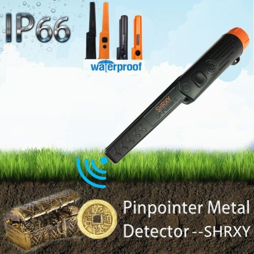 Metal Detector Pro Pinpointer Waterproof Static State Digger Detecting Tools NEW