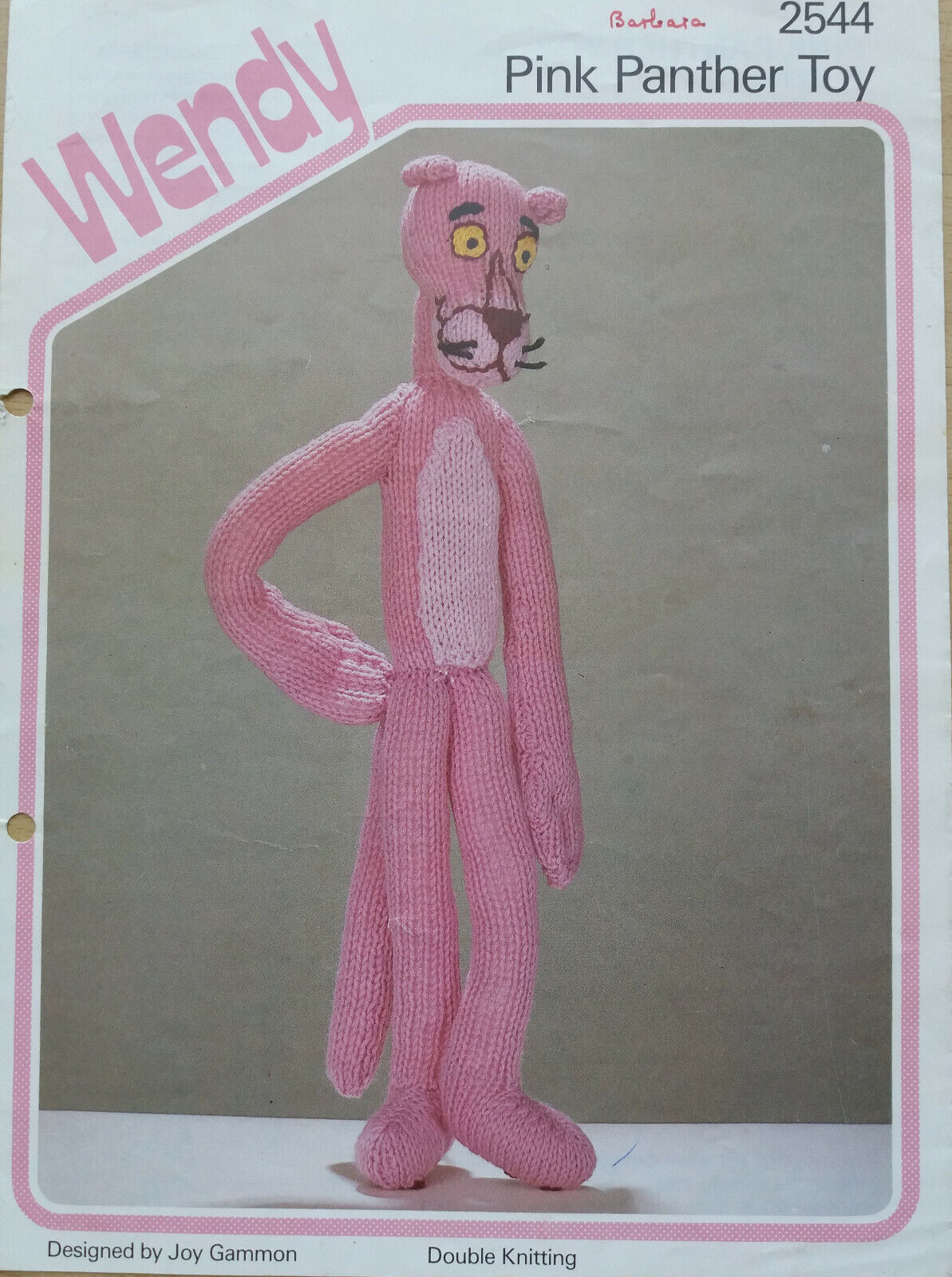 Pink Panther Amigurumi - Free crochet pattern by Edward Yong ... | 1600x1193