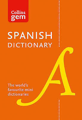 1 of 1 - Collins Spanish Dictionary Gem Edition: 40,000 Words And Phrases