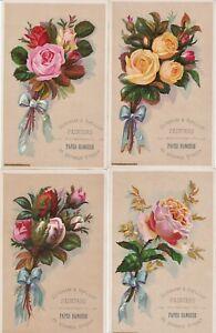 Détails sur Super set 4 LG VICTORIAN TRADE CARDS-Roses Peintres Papier Peint Grand Rapids Michigan- afficher le titre d'origine