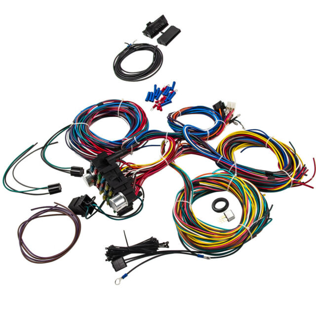 [DIAGRAM_38IU]  21 Circuit Wiring Harness for Chevy MOPAR Ford HOTROD Universal Extra Long  Wires for sale online | eBay | 21 Circuit Wiring Harness 1963 Impala |  | eBay