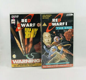 Red-Dwarf-I-The-End-amp-Red-Dwarf-Smeg-Ups-2-x-VHS-Tapes