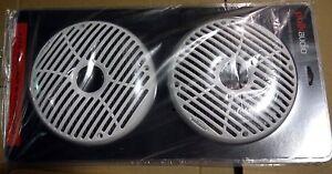 Pair-Polk-Audio-DXi65MG-6-5-034-Marine-Grille-DXI650-DXI6500-DB651-DB651S-Speakers