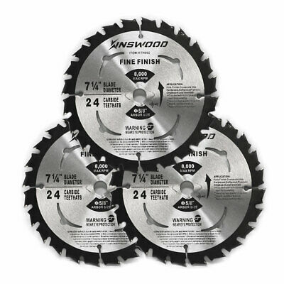"Circular Saw Blade 7-1//4/"" 5//8/"" 1 pc 40T Carbide Tip Table for DeWalt /& Makita"
