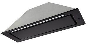 Deckenhaube 90cm eek:a 850m³ h dunstabzugshaube schwarz