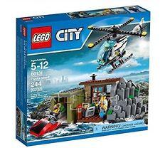 60131 CROOKS ISLAND lego city town SEALED legos set NEW police HELICOPTER