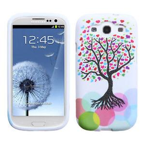 For-Samsung-Galaxy-S-III-3-TPU-CANDY-Flexi-Gel-Skin-Case-Phone-Cover-Love-Tree