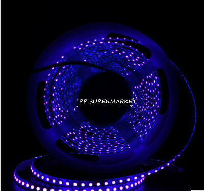 12V 3528 395-405nm UV Ultraviolet waterproof 60led//m 120led//m Strip black light
