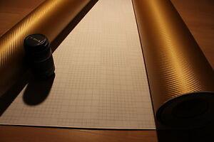 18 00 m carbon folie gold autofolie 2d 3d 4d 5d. Black Bedroom Furniture Sets. Home Design Ideas