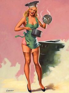 1940s Pin-Up Girl The Egyptian Picture Poster Print Art Pin Up