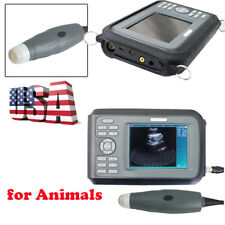 Vet Portable Digital Ultrasound Scanner Machine Handheld Pregnancy Animal Probe