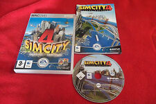 SIM CITY 4 DELUXE EDITION APPLE MAC/DVD V.G.C. ( includes rush hour expansion )
