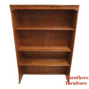 Ethan-Allen-Nutmeg-Heirloom-Room-Plan-CRP-Dresser-Hutch-Top-Bookshelf