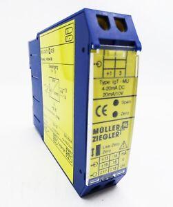 UgT-MU Müller-Ziegler Messumformer 0-60mV DC  Typ