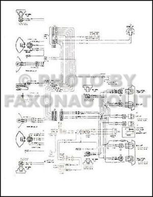 1977 Corvette Wiring Diagram Original Foldout 77 Chevrolet Electrical  Schematic | eBayeBay