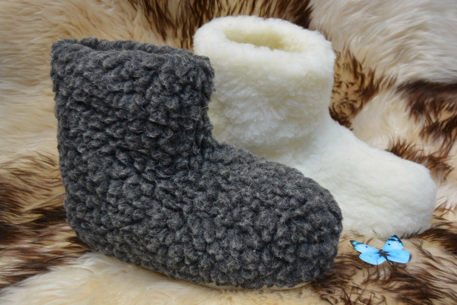 Mujer All Hombre Slippers Botas Sheep Wool Leather All Mujer Talla Cozy Foot  DB dacde7