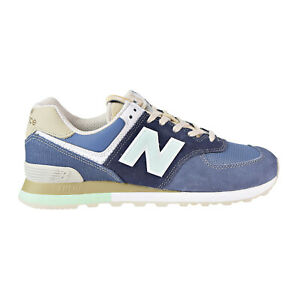 huge discount 82e4f 4bb75 Details about New Balance 574 Retro Surf Men's Shoes Blue/Green ML574-BSL