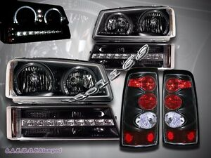 Image Is Loading 03 04 05 06 Chevy Silverado Led Headlights