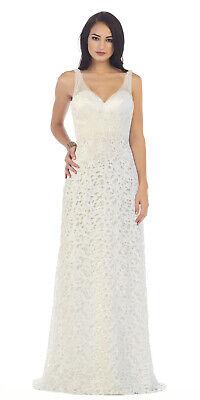 Vintage Wedding Dresses For Sale.Sale Wedding Ceremony Ivory Bridal Dresses Long Vintage Bride Gowns Under 100 Ebay