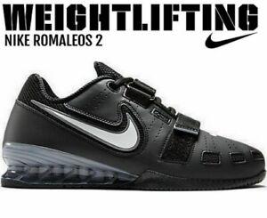 Casquette Hommes NIKE romaleos 2 Haltérophilie Training Baskets Chaussures Baskets Taille 18