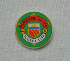 Manchester United Football Club Badge English Soccer Team Pin Logo Sport Vintage Ebay