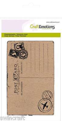 Craft Emotions Clear Stamps A6 HAPPINESS COLLECTION Reduced  *