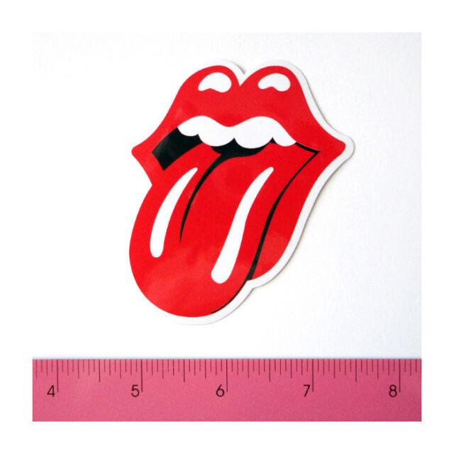 Skateboard Car Window Bumper Guitar Phone Vinyl Decal Sticker - Lick Tongue