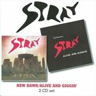New Dawn/Alive and Giggin' by Stray (CD, May-2010, 2 Discs, Angel Air Records)