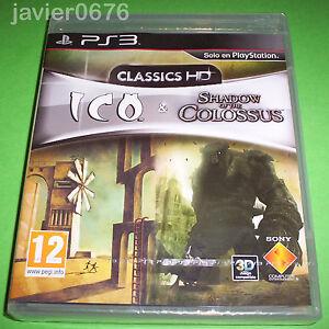 ICO-amp-SHADOW-OF-THE-COLOSSUS-HD-COLLECTION-NUEVO-Y-PRECINTADO-PAL-ESPANA-PS3
