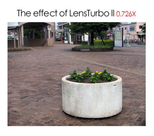 Lente Turbo Montaje Adaptador Para Minolta Md II Lente Sony Montaje NEX α6000 a6500