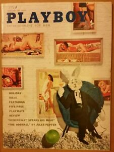 Playboy-January-1961-Very-Good-Condition-Free-Shipping-USA